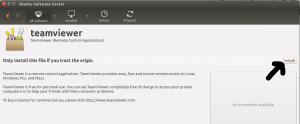 How to install teamViewer in ubuntu 14.04, 14.10, 15.04
