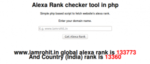 alexa-rank-php