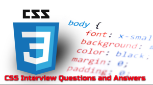 CSS Interview Questions and answers for experienced