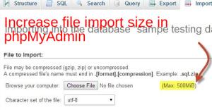 increase-file-import-phpmyadmin