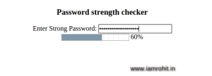 30 Popular JQuery password strength meter