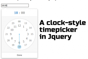 time-picker