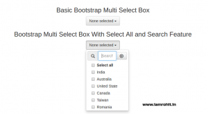 bootstrap-multi-select