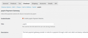 How To Integrate Paytm Paymet Gateway With WordPress Woocommerce