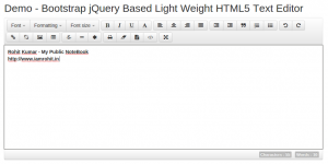 bootstrap-jquery-html5-text-editor