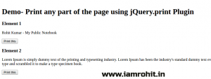 print-page-jquery