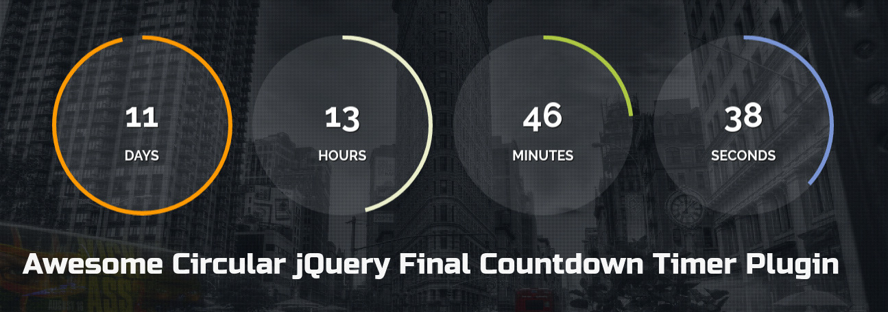 Circular-jQuery-Final-Countdown-Timer-Plugin