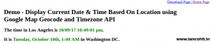 current-date-time-location-based