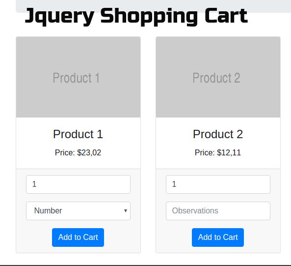 PHP MySql Shopping Cart Script