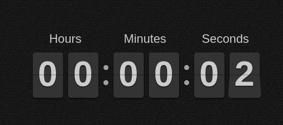 Angular countdown and countup timer component