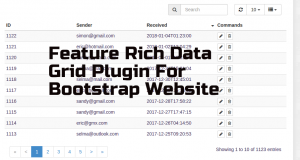 Data-Grid-Plugin-For-Bootstrap