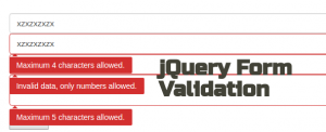 60 Popular jQuery Form Validation Plugins