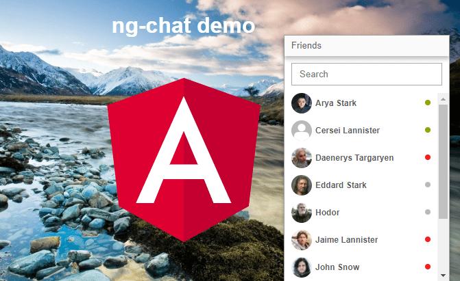 40 Popular AngularJs Chat Script - iamrohit.in