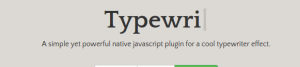 javascript-typewriter