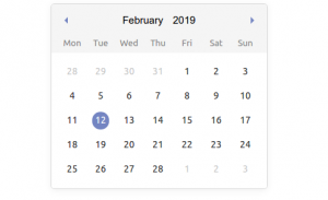 Lightweight and mobile friendly Vue date time picker