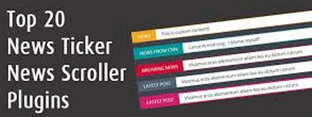 jQuery News Ticker Plugins