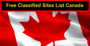 Top 20+ Canada Free Classified Sites List